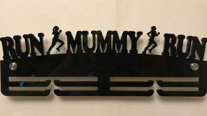 Run Mummy Run 2 tier medal hanger