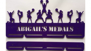 Cheerleading 1 tier with extra rails medal hanger