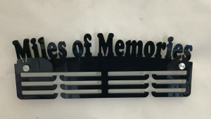 Miles of Memories 3 tier medal hanger