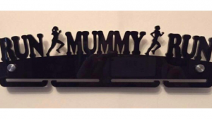 Run Mummy Run single tier medal hanger