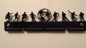 Single Tier Football medal hanger