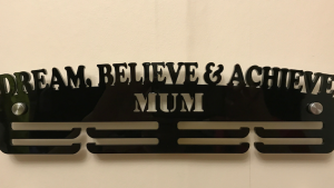Dream, Believe & Achieve 2 tier medal hanger
