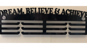 Dream, Believe & Achieve 3 tier medal hanger