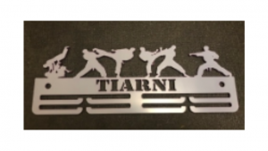 Martial Arts two tier medal hanger