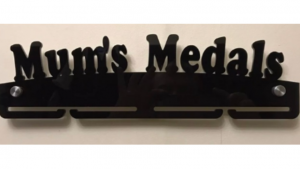 Mum's Medals single tier medal hanger