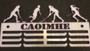 Hockey Personalised 3 tier medal hanger