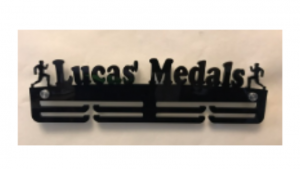 Running Named Medals two tier medal hanger