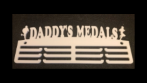 Daddy's Medals 3 tier medal hanger